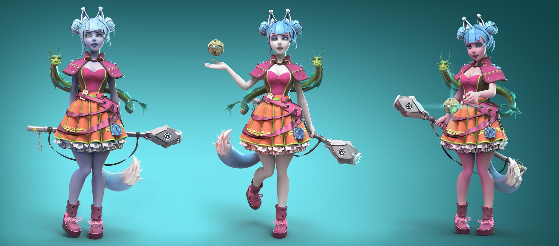 02 | 3D Character artist/ 3D Художник Персонажей