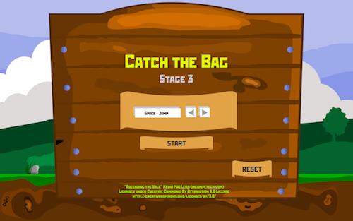 Снимок экрана 2017-12-24 в 22.29.57 | Catch the Bag [Конкурс: Игра на одном экране]