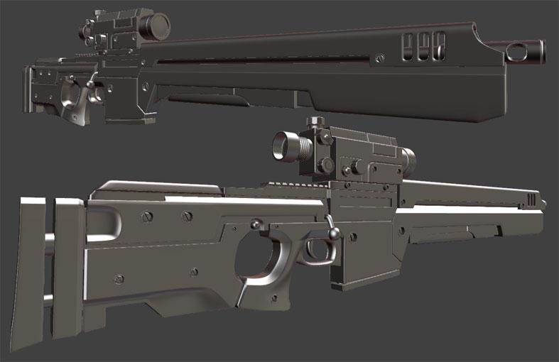 SniperRifle | Ducat и 3D - понятия несовместимые...