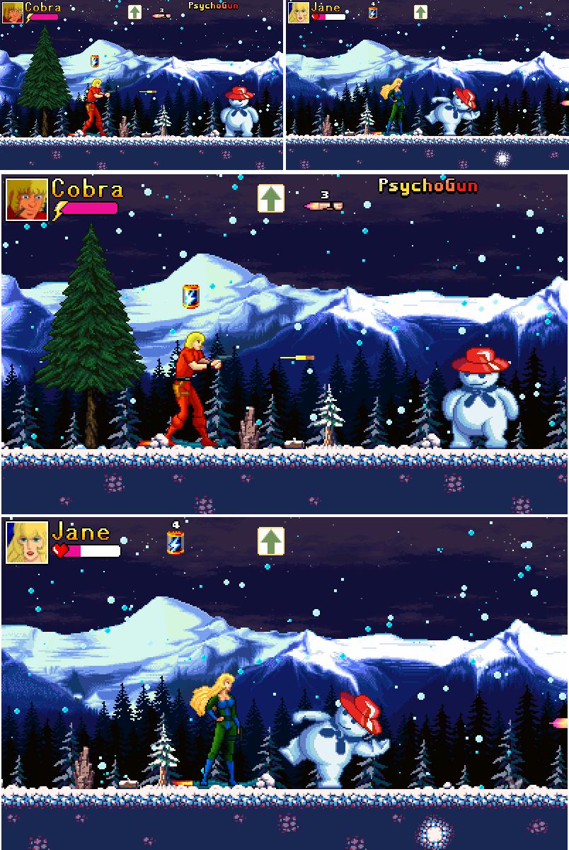 snowman | Space Cobra RetPixMod