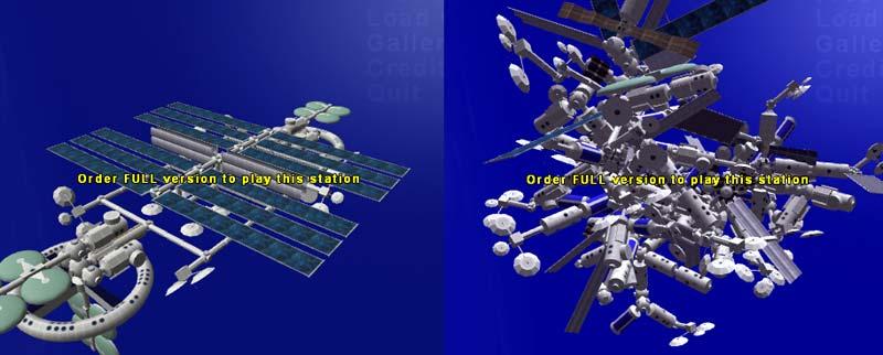 Space station manager screenshots | Симулятор строительства в космосе
