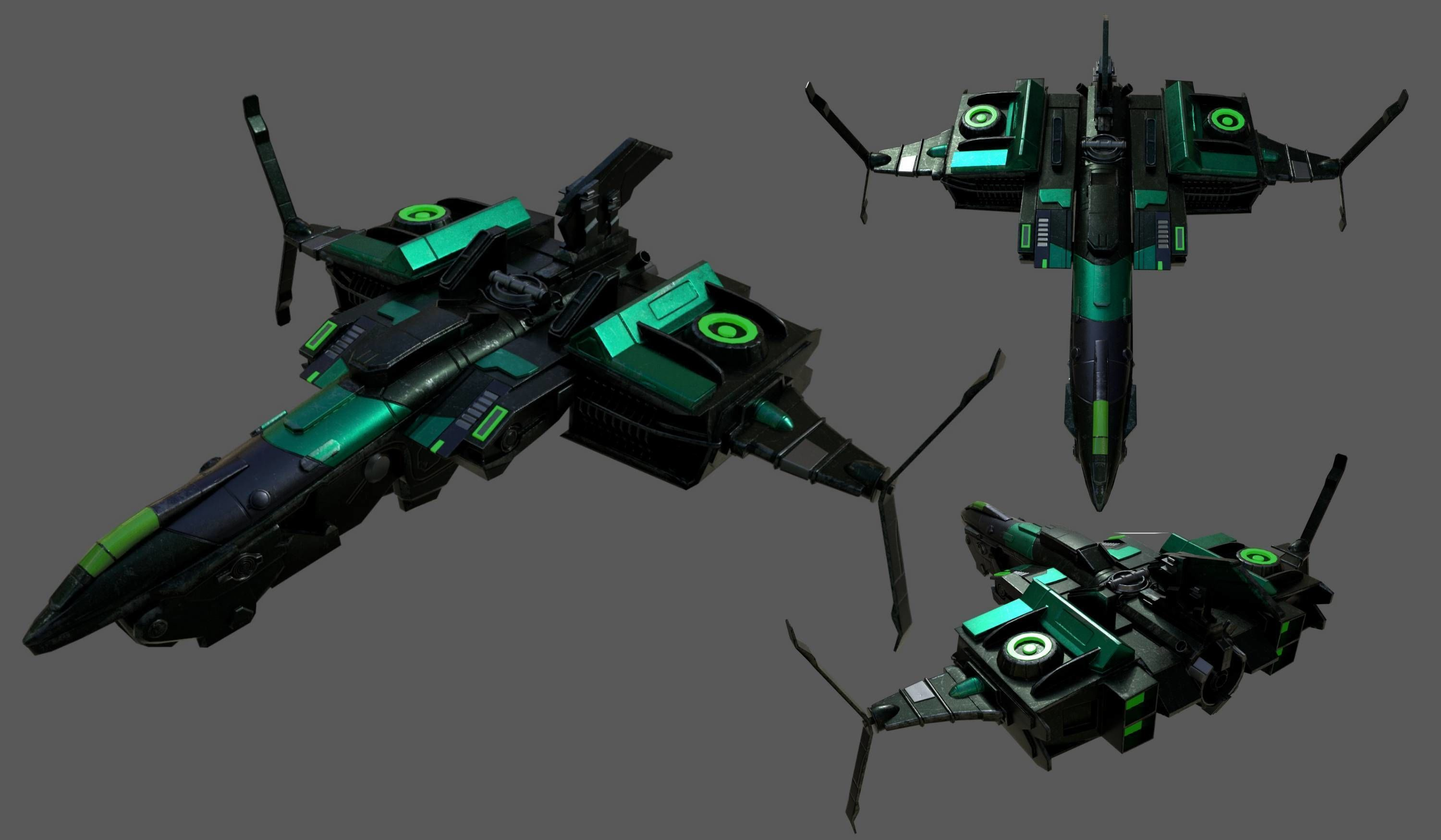 spaceship-commander-starship-combat-low-poly-space-fantasy-3d-model-low-poly-obj-fbx-ma | 3d artist