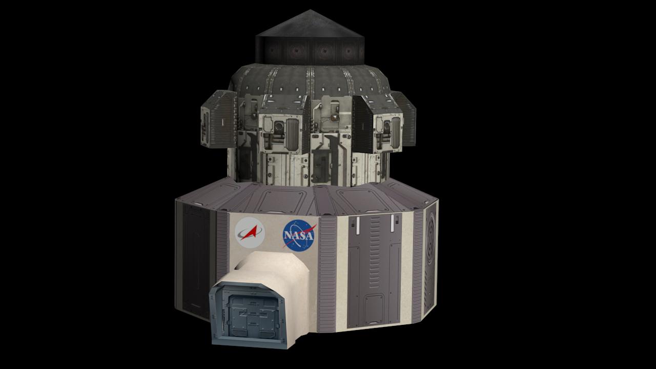 Space Station | Сравнение игровых движков