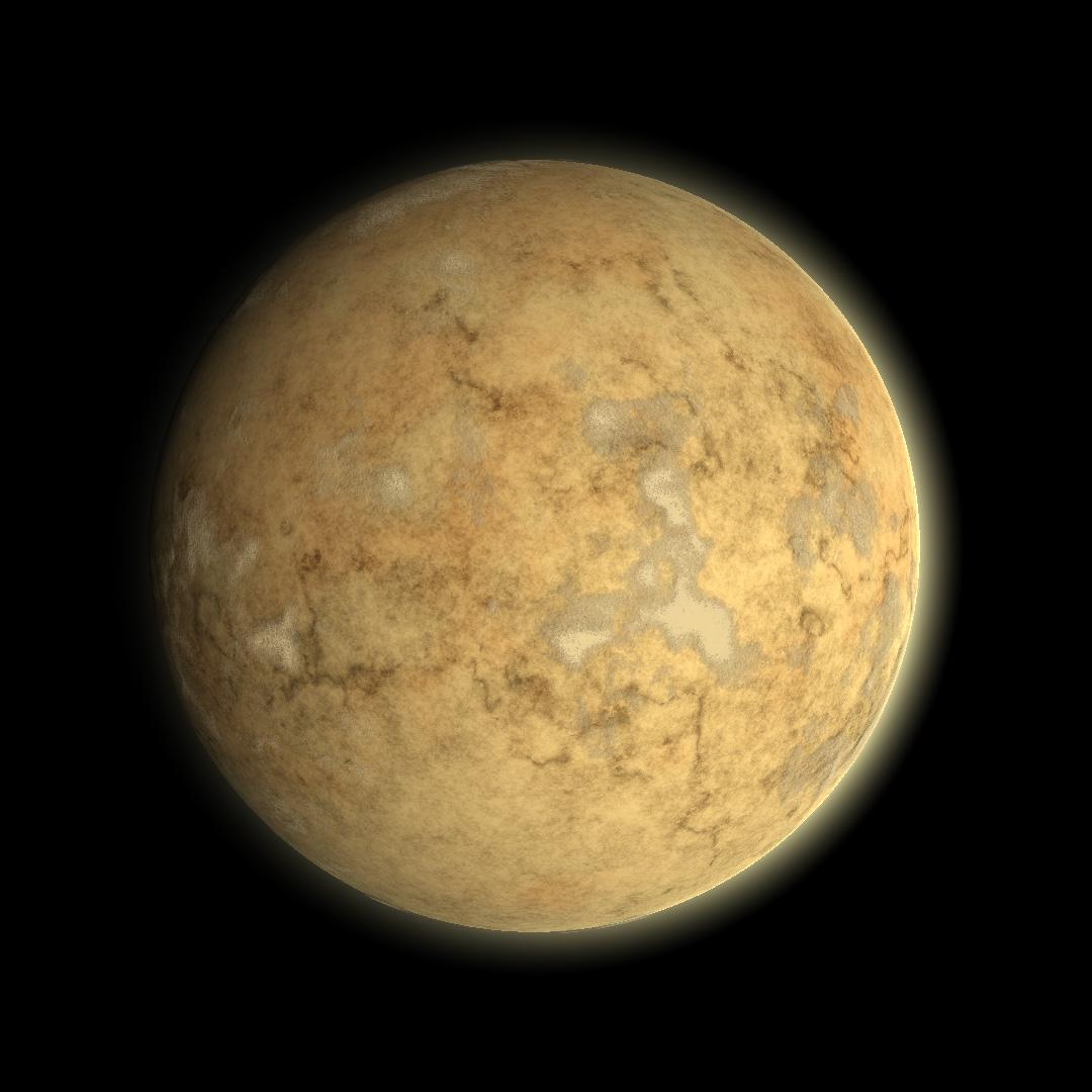 sphere_perlin_noise003 | Текстура планеты. Хотел как лучше...
