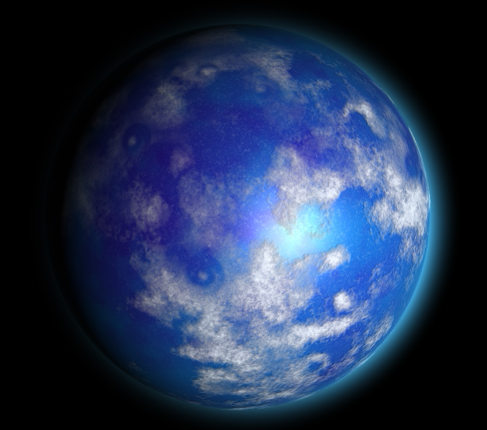 sphere_perlin_noise004 | Текстура планеты. Хотел как лучше...