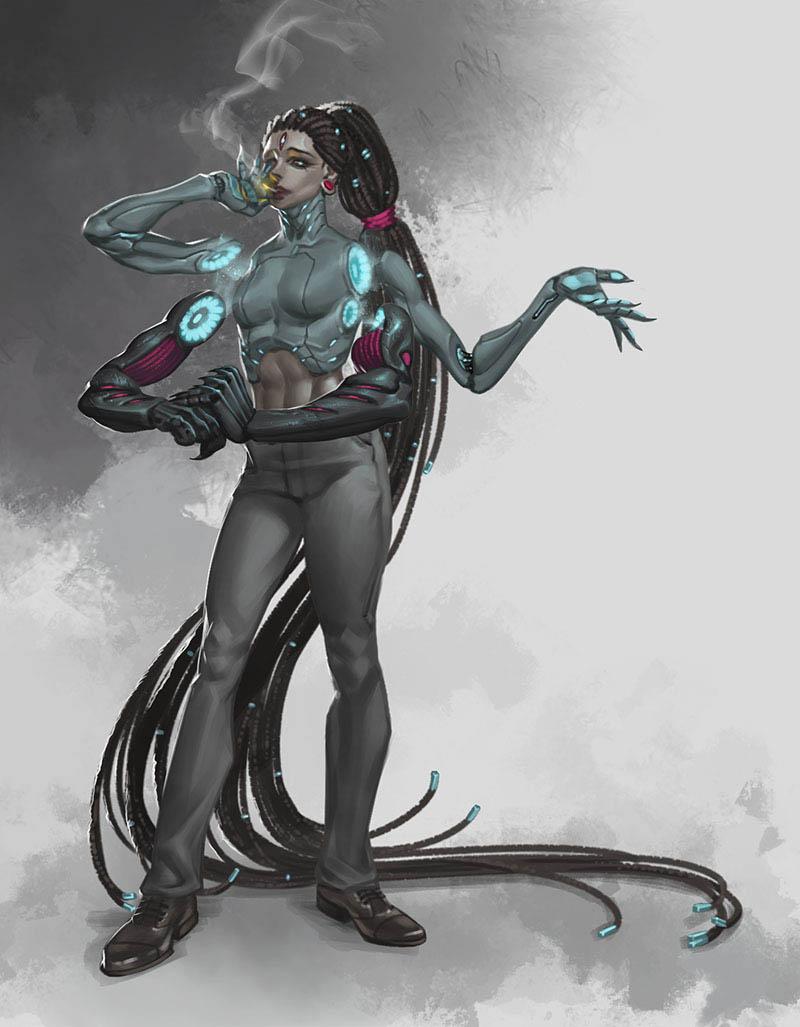 Спайдер | 2D-художник / 2D-artist
