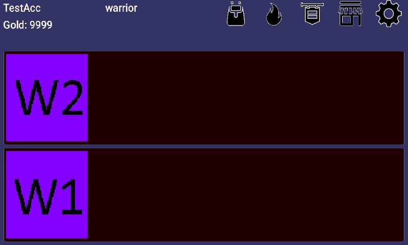 Экран способностей
