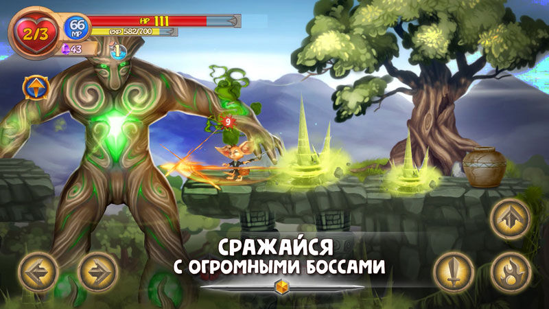 Платформер | Fin: Древняя Тайна - бродилка/платформер
