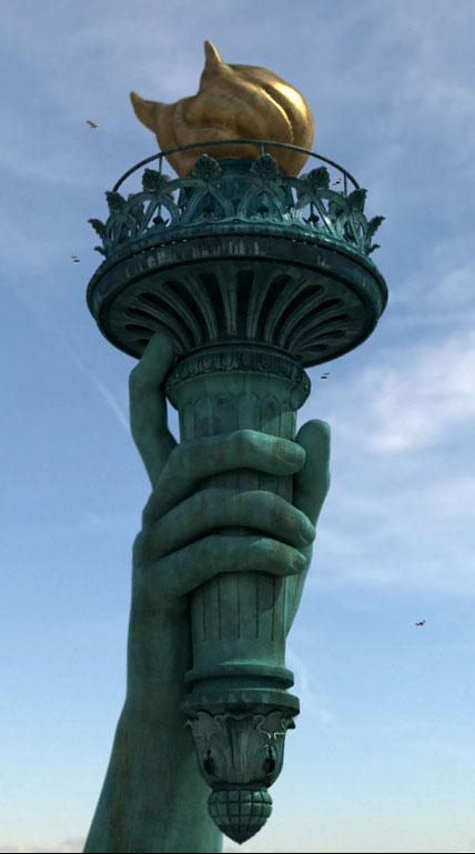 Статуя свободы | Портфолио