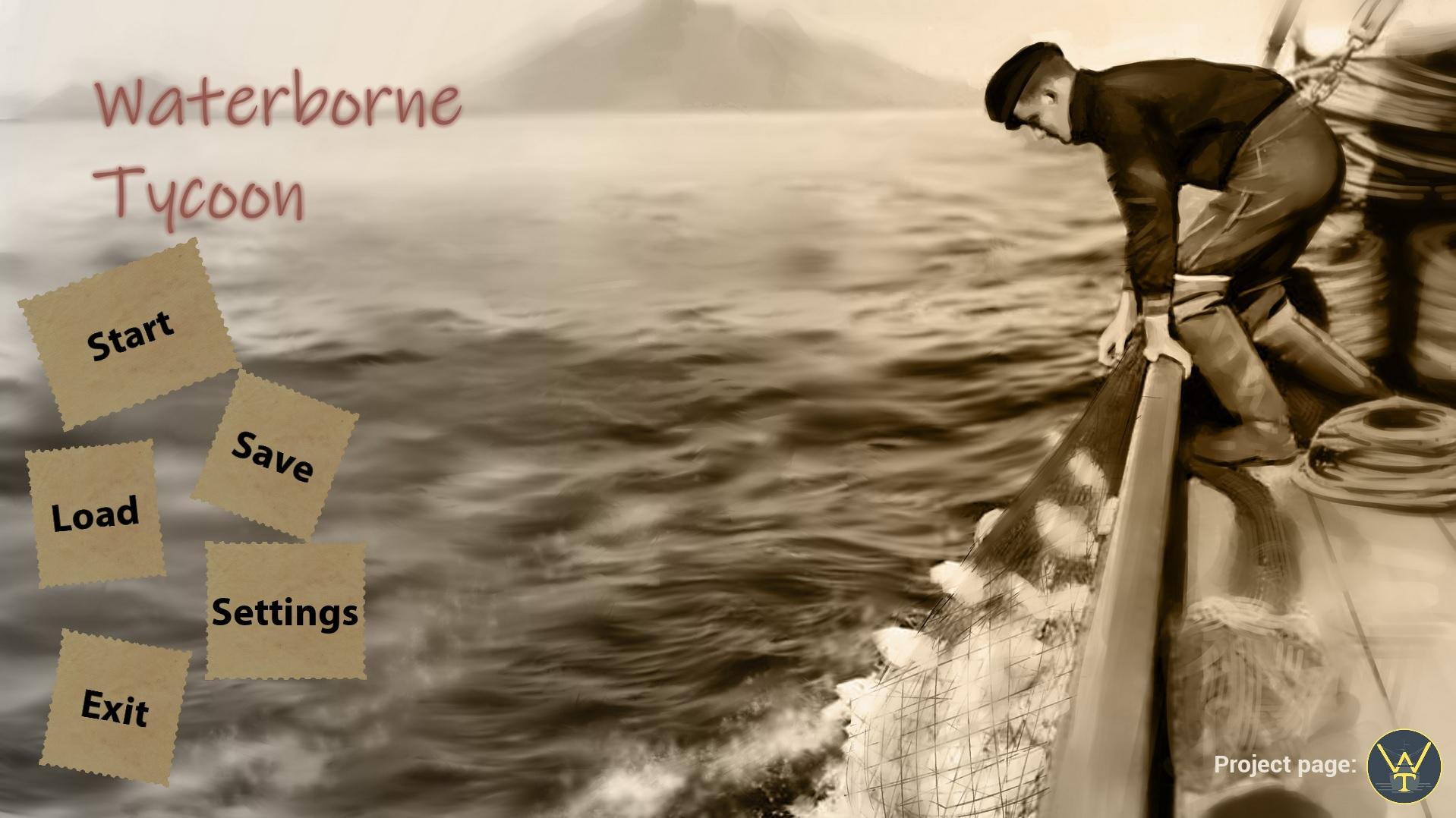 startpage1 | Waterborne Tycoon