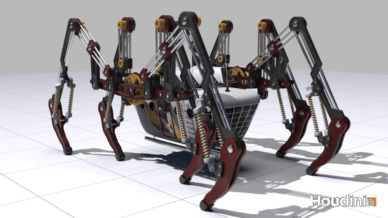 Step_Mech | 3D modeller
