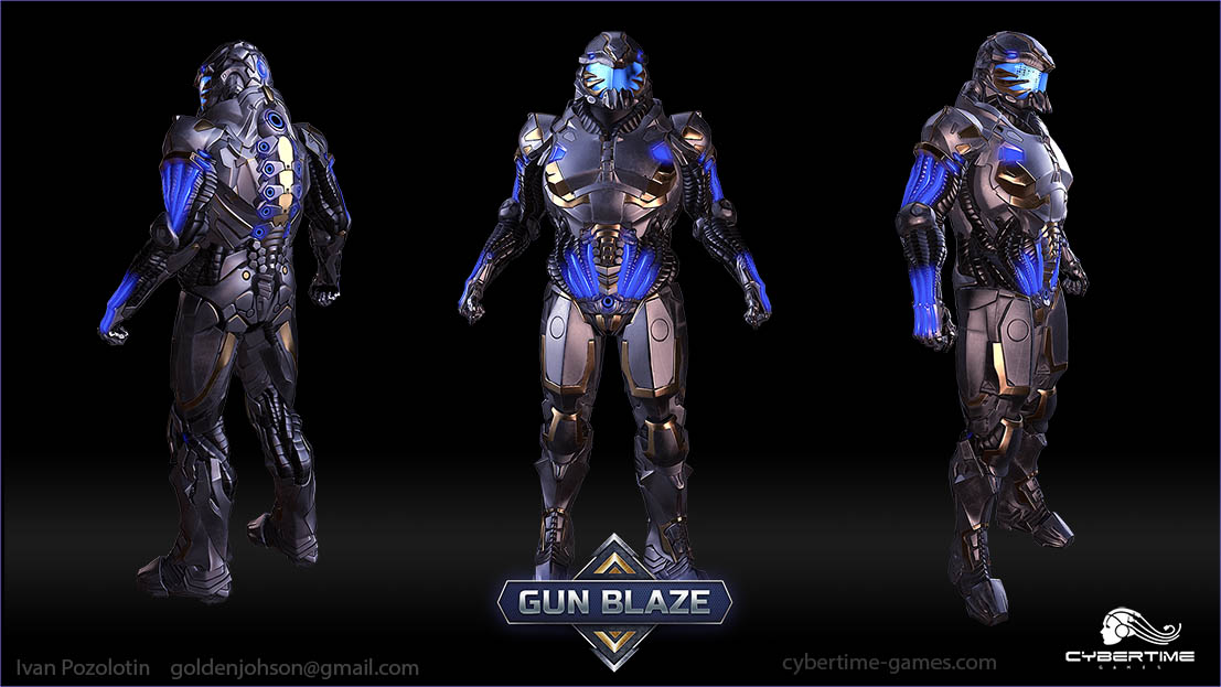 stormtrooper_gun_blaze | 3D Artist / Character Artist