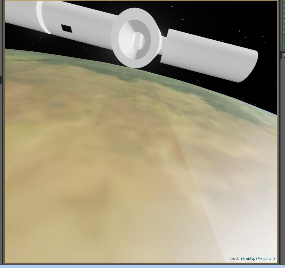 piu piu | Unreal Engine 4 - планета в космосе