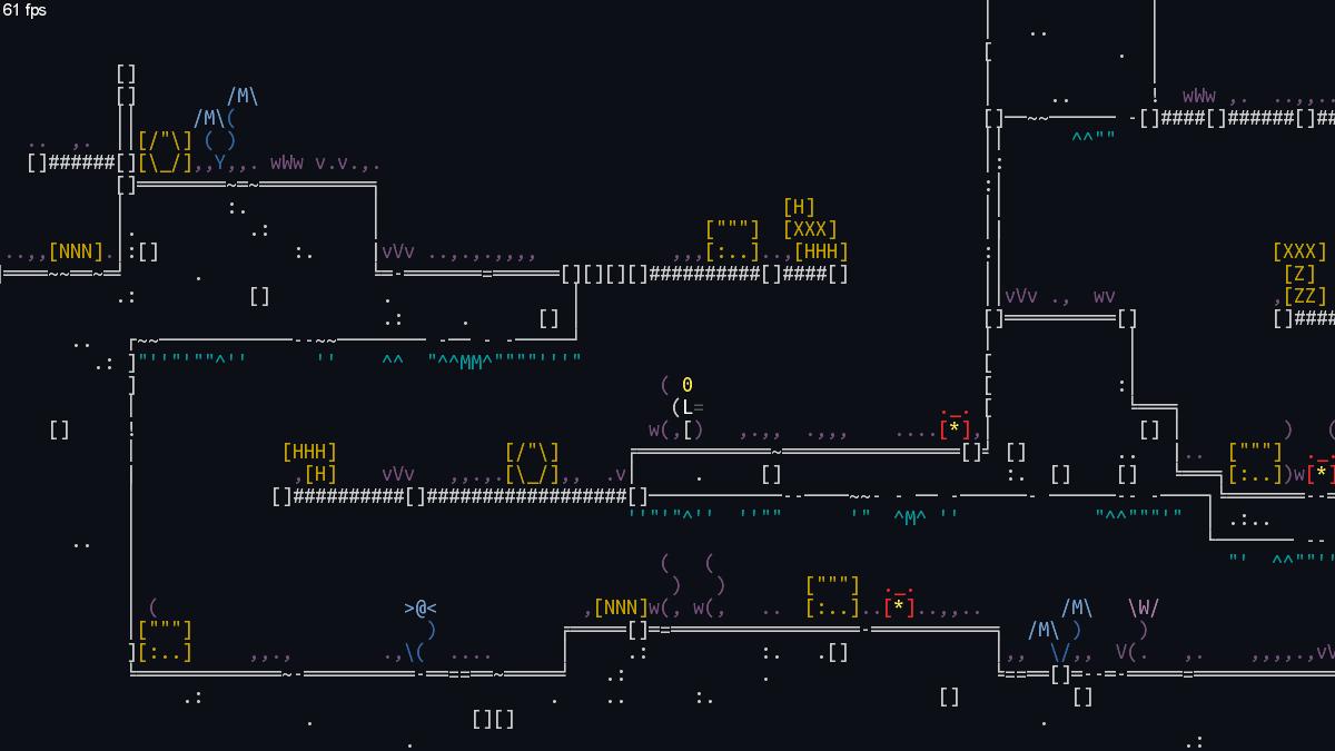 strict_1 | Unsigned Character  0.6.0 [ASCII-платформер с процедурной генерацией]