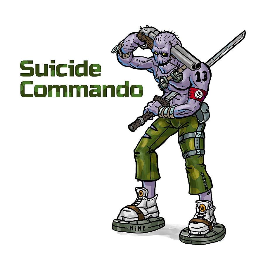 suicide_commando | Мешок хлопушек