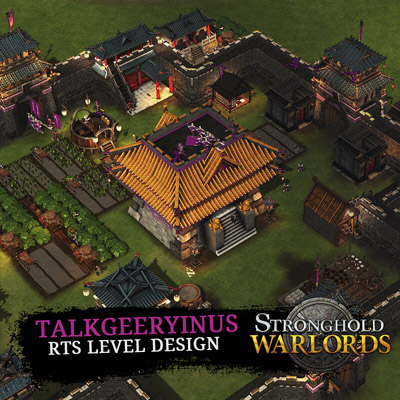 Talkgeeryinus map for Stronghold Warlords