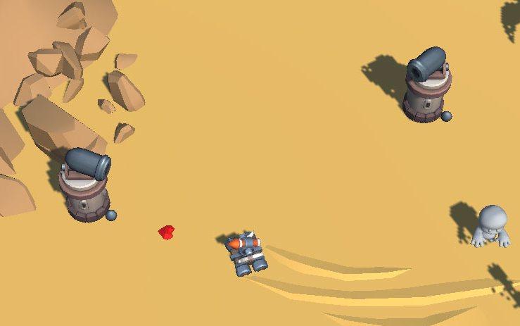 Rocket tank - скрин 1 | Rocket Tank [Android][arcade]