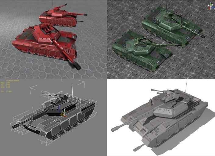 Tank_demo1 | 3d Environment Artist - 3d окружение для игр