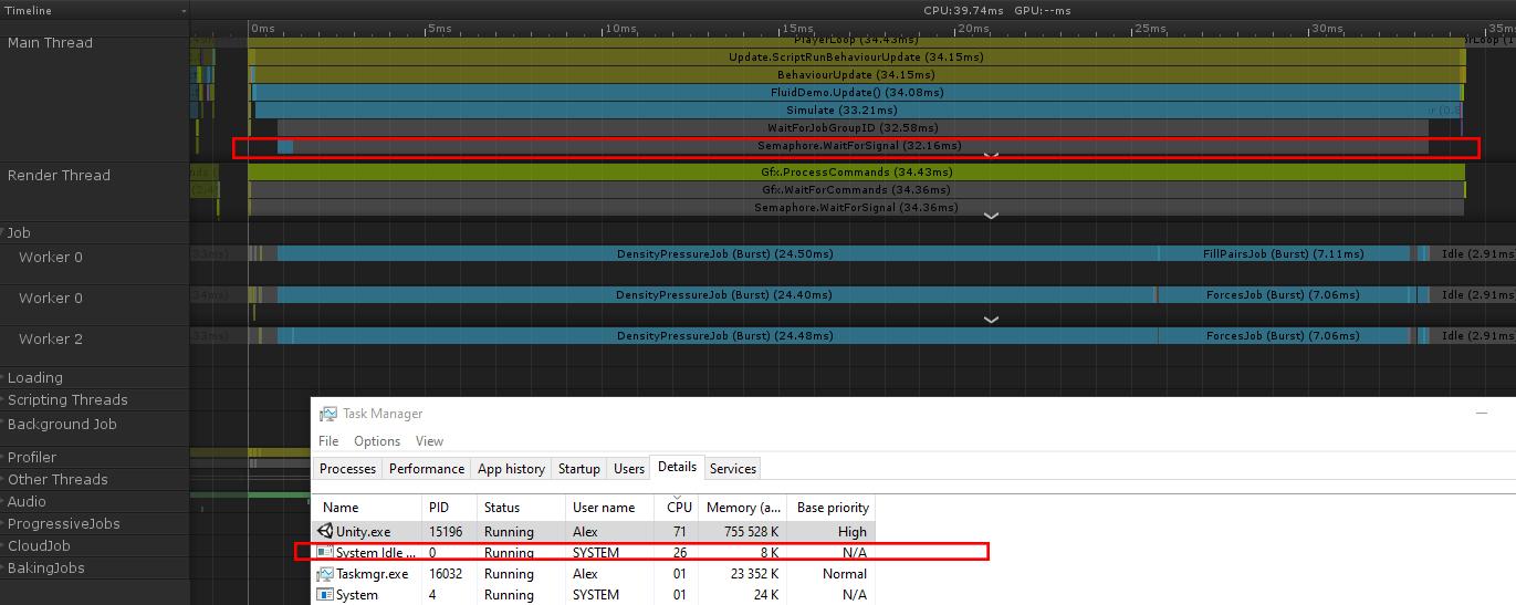 taskmanager | Потестируйте билд на Unity на предмет загрузки процессора