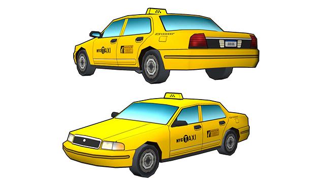 taxi | 3d моделлер