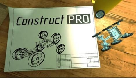 logo | Construct PRO - comeback из детства