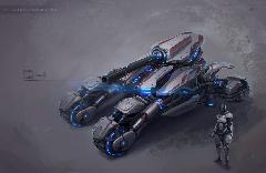 Sci-fi tank 04