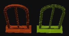 Окна, не показываемые полигоны