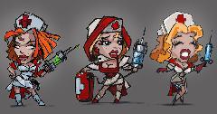 nurse sketches