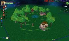 Городская локация в игре Сказа