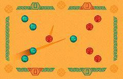 Gameplay (El Zengo 1.0, red vs green)