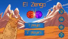 Gameplay (El Zengo 1.0, main screen)