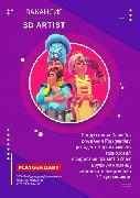 Senior 3D Artist -Playgendary - офис Минск - казуальная графика