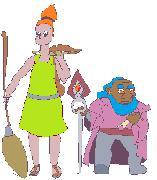 Набросок персонажей