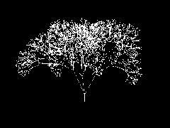 Имитация раскачивания дерева под воздействием ветра