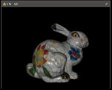 Software Rendered Bunny Phong
