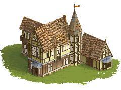 Замок, растровая графика