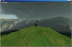Пример искажения текстуры Skybox