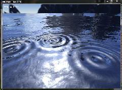 Динамические волны на воде