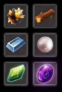 6 icons
