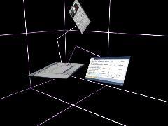 трехмерный оконный интерфейс