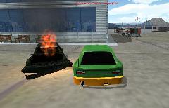 Nitro Drive - сделан остов машины после взрыва