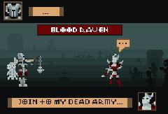 Некромант VS Кровавый Ворон