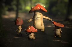 Mushroom ganza