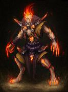 artem-aleksandrin-werewolf-fire-ren