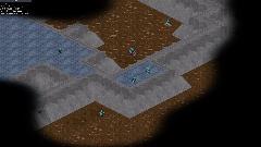 тип карты: темные земли, бетонное возвышение (blender)