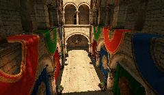 Сцена Crytek Sponza