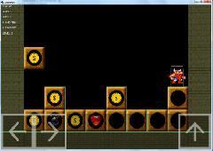 скриншот прототипа игры CubeJumper