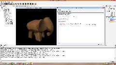 GLSL шейдер в RenderMonkey (Diffuse + AMb +texture)