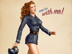 Drawn_wallpapers_Painted_girls_Retro_Waitress_011527_444