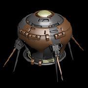 пример оборудования корабля